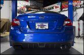 Invidia N1 Racing Single Exit Exhaust Titanium Tip - 2015-2020 Subaru WRX & STI