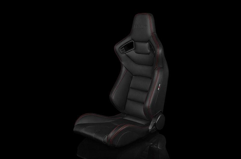 Braum Elite Series Racing Seat (Red Stitching)