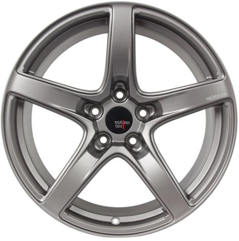 Option Lab R555 18x9.5 +38 Noble Grey - 2013+ FR-S / BRZ / 86 / 2014+ Forester