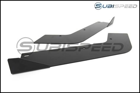 Rally Innovations Aluminum Rear Splitter / Spats - 2015+ WRX / 2015+ STI