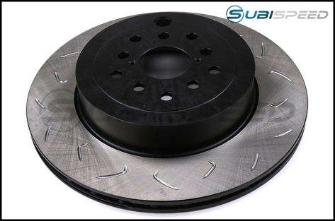 FactionFab Slotted Dual Drilled Rotors - 2018+ STI / 2013+ FR-S / BRZ / 86