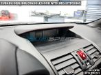 Subaru OEM JDM Console Hood with Black Stitching - 2015+ WRX / 2014+ Forester