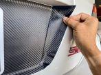 Sticker Fab 3D Carbon License Plate Panel Overlays - 2015-2020 WRX / 2015-2020 STI