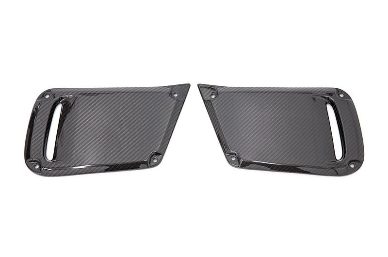 OLM LE Dry Carbon Fiber JDM DRL Facelift Bezel Cover (No Fog Hole)