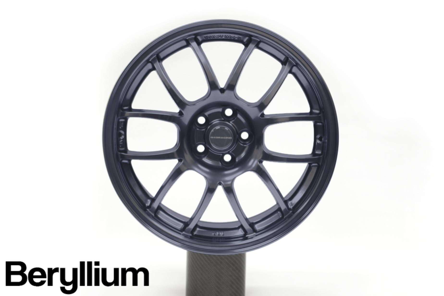 949 Racing 6UL 17x9 +40mm Beryllium - 2013+ FR-S / BRZ / 86 / 2014+ Forester