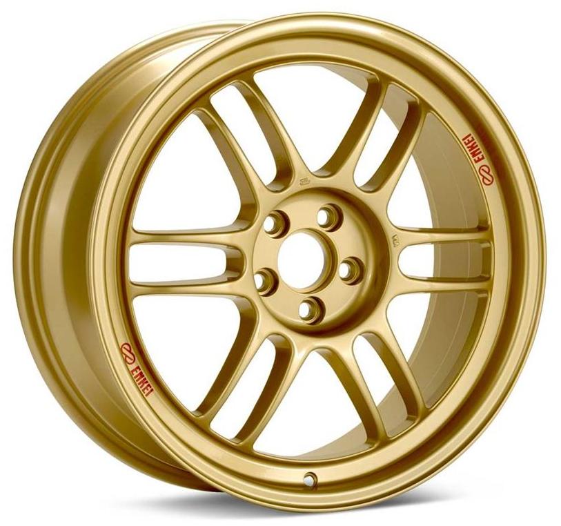 Enkei RPF1 Wheels 17x9 +45mm (Gold) - 2013+ FR-S / BRZ / 2014+ Forester