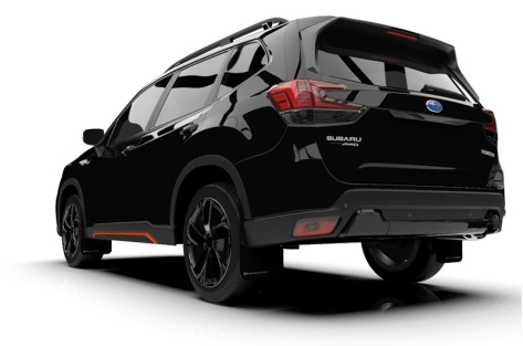 Rally Armor UR Mudflaps - 2019+ Forester