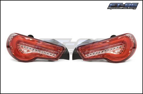 OLM VL Style / Helix Sequential Red Lens Tail Lights RC Edition