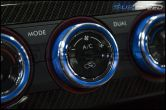 JDMS Textured Climate Control Knob Covers - 2015+ WRX / 2015+ STI
