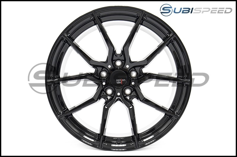 Option Lab R716 Wheels 18x9.5 +35 Gotham Black Wheels - 2015+ WRX / 2015+ STI