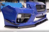 OLM 3 Piece Carbon Fiber Low Pro Front Lip - 2015-2017 WRX / 2015-2017 STI