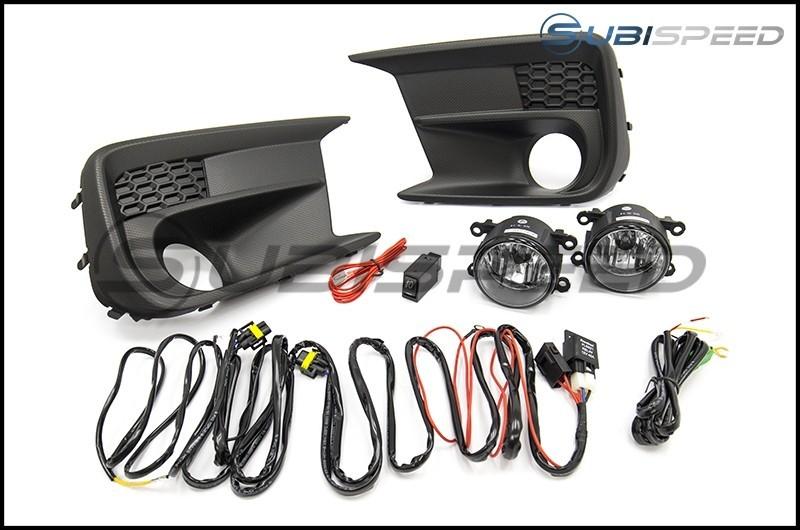 OLM Complete OEM Style Fog Light Kit - 2018-2020 Subaru WRX & STI