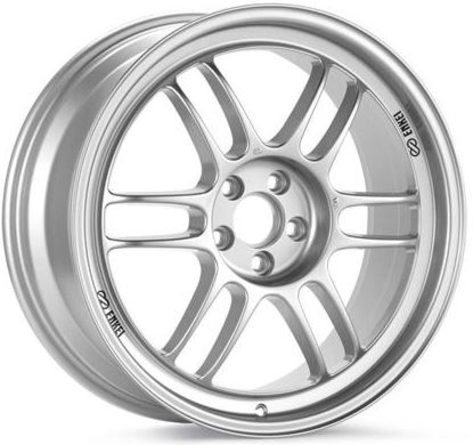 Enkei RPF1 Wheels 18x8 +45mm (Silver) - 2013+ FR-S / BRZ / 86 / 2014+ Forester
