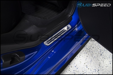 Subaru JDM Metal Door Sills
