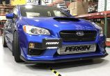 Perrin Front License Plate Relocation Kit For FMIC - 2018+ WRX / 2018+ STI