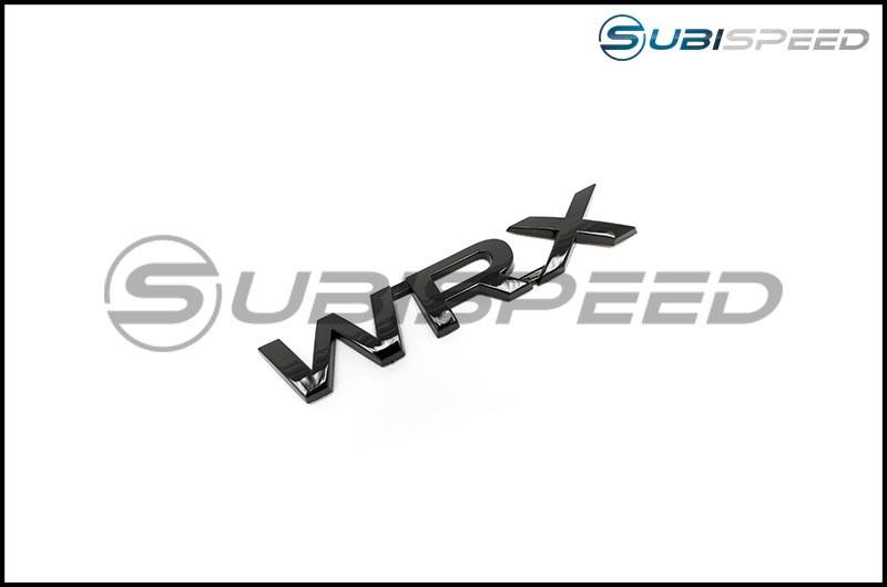 WRX Gloss Black Trunk Emblem