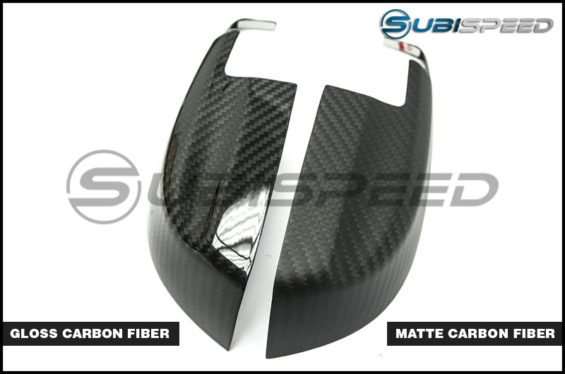 OLM S-line Dry Carbon Fiber Mirror Covers (Lower)