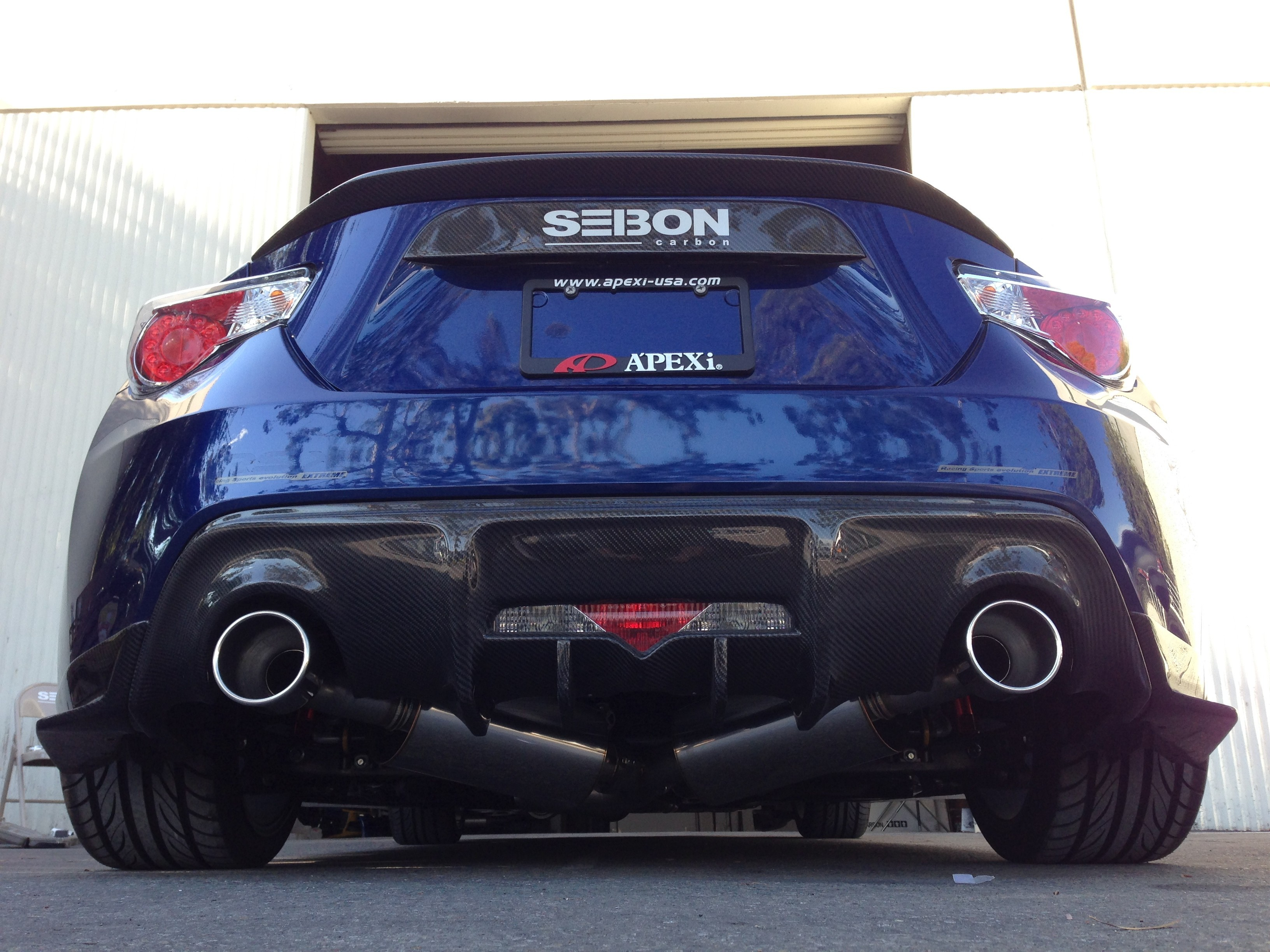 APEXi N1 Evo-R Catback Exhaust