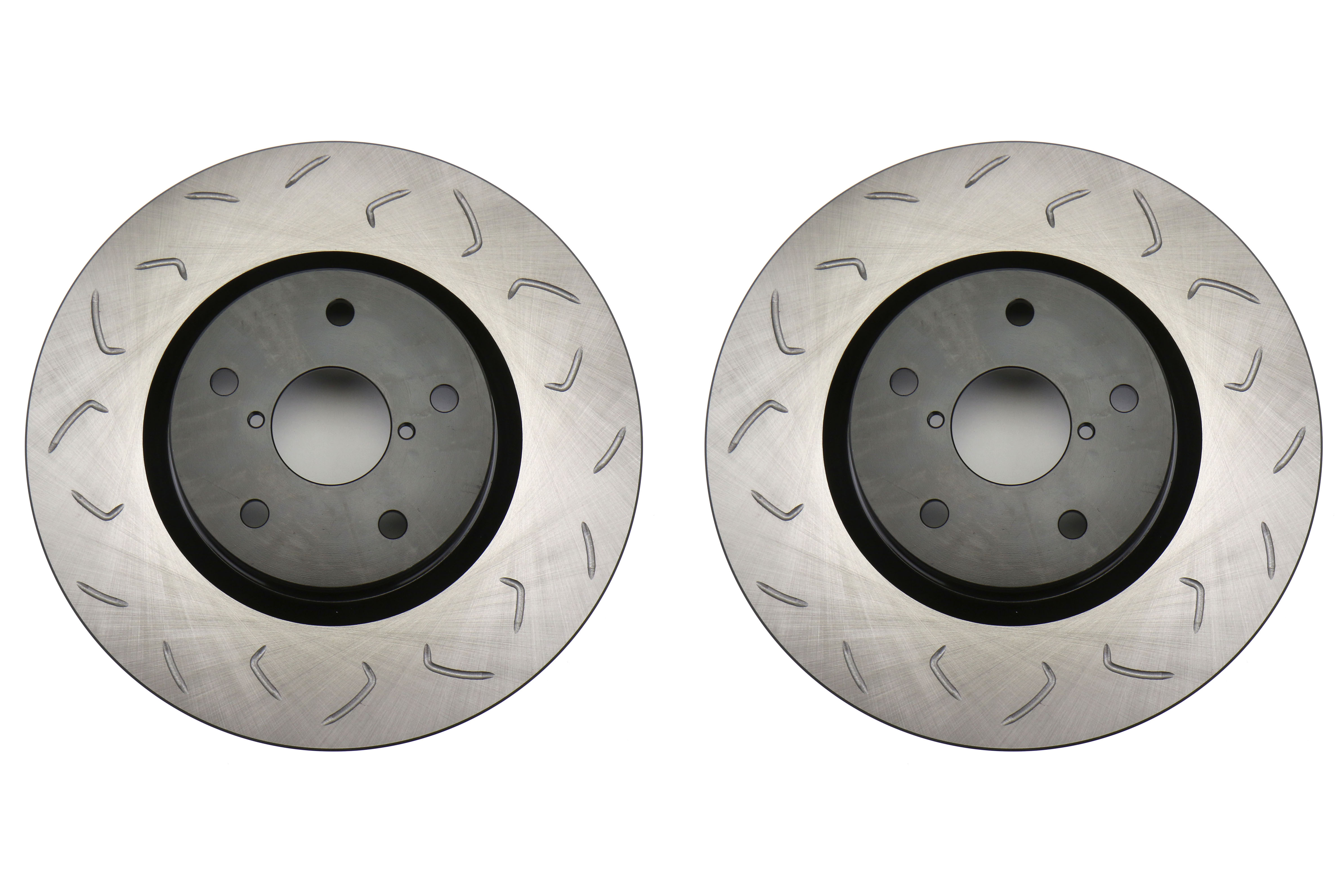 FactionFab Slotted Front Rotor Pair