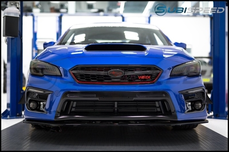 ChargeSpeed Carbon Fiber Grille Finisher