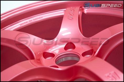 Rays Gram Lights 57CR Sakura Pink 18X9.5 +38 - 2015+ WRX / 2015+ STI