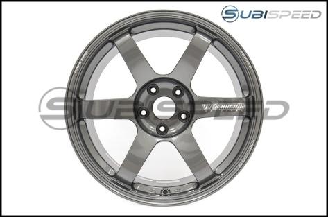 Volk TE37 SAGA Gunmetal 18x10 +41 - 2015+ WRX / 2015+ STI