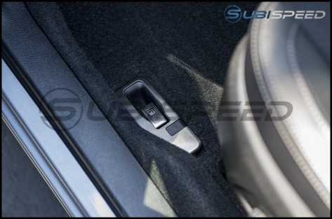GCS Stainless Steel Fuel Door Lever Cover - 2014-2018 Forester