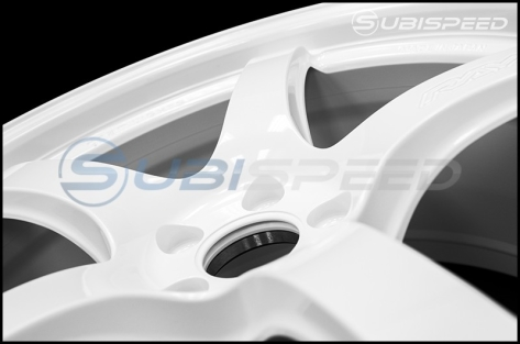 Rays Gram Lights 57CR Ceramic Pearl 18x9.5 +38 - 2015+ WRX / 2015+ STI