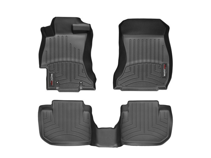 WeatherTech FloorLiner DigitalFit All Weather Floor Mats - 2013-2017 Crosstrek