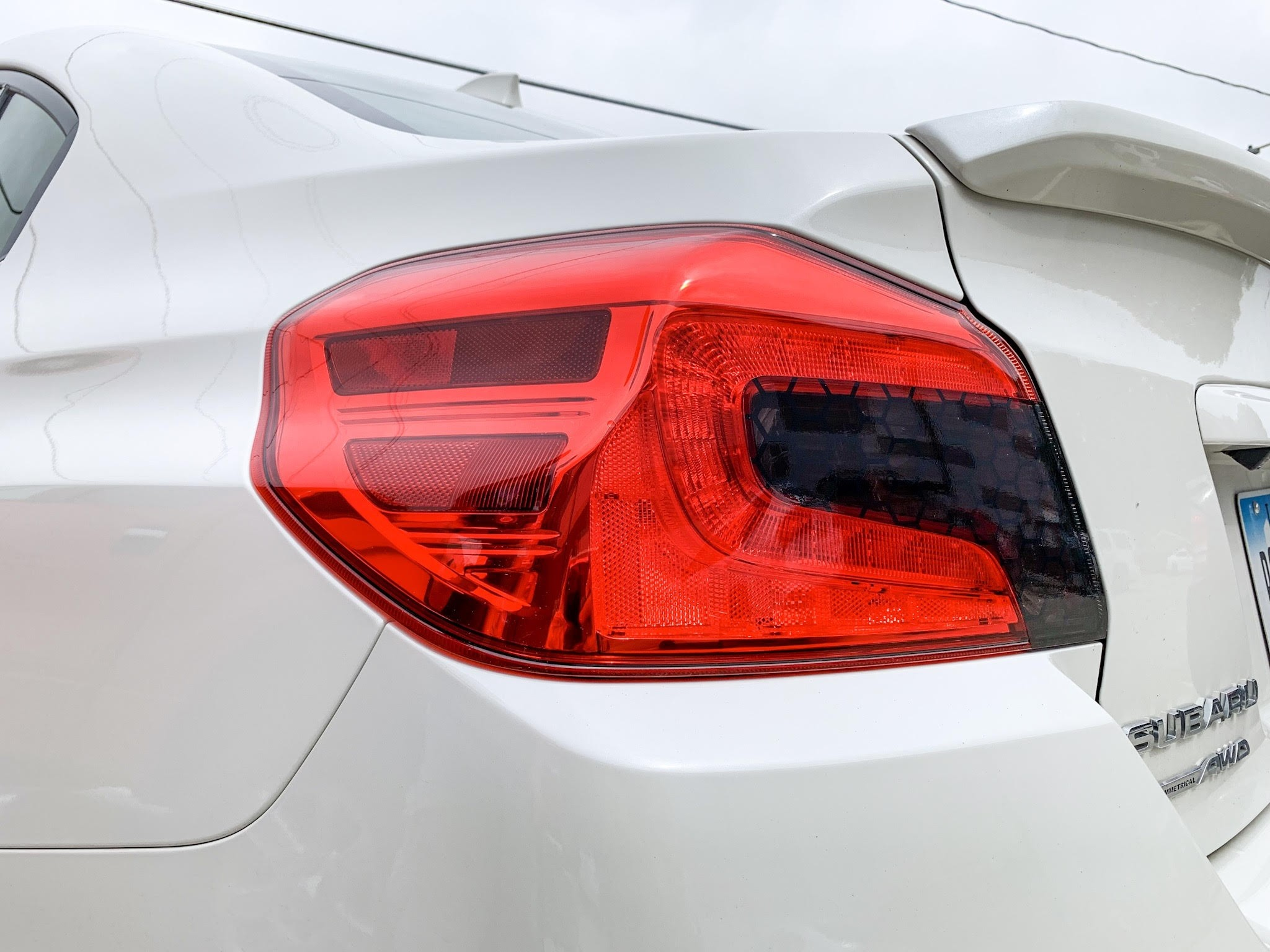 Sticker Fab Special Edition Honeycomb Smoked Tail Light Tint