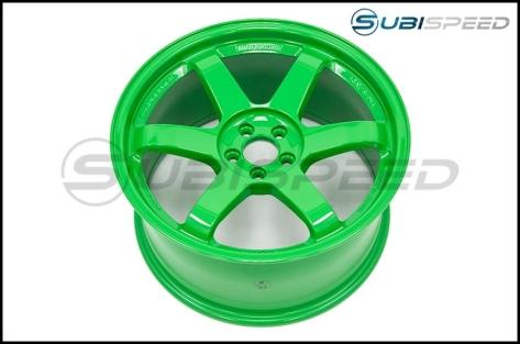 Volk TE37SL Takata Green 18x9.5 +40
