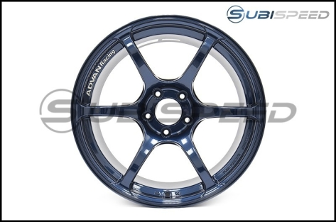 Advan RGIII 18x9.5 +45 Racing Special Edition Indigo Blue - 2015+ WRX / 2015+ STI