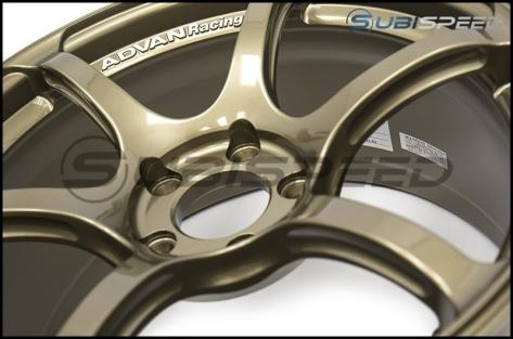 Advan RGIII 18x9.5 +45 Racing Special Edition Bronze - 2015+ WRX / 2015+ STI