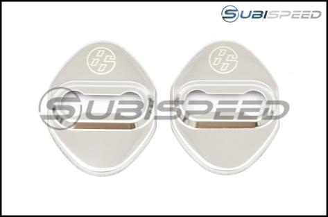 GCS Mirrored Door Striker Covers - 2013+ FR-S / BRZ / 86