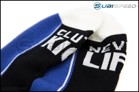 HOONIGAN Super Sport Crew Black / Blue Sock - Universal
