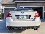 Sticker Fab Special Edition Dark Smoke Stealth C-Cut Tail Light Overlays - 2015-2021 Subaru WRX & STI