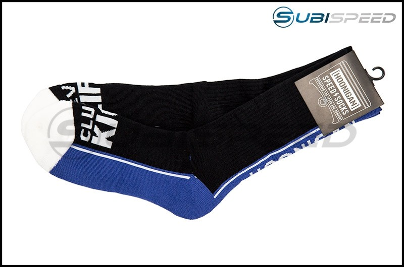 HOONIGAN Super Sport Crew Black / Blue Sock