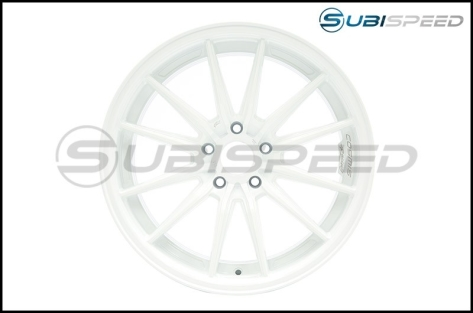 Cosmis Racing R1 18x9.5 +35mm White - 2013+ FR-S / BRZ / 86 / 2014+ Forester