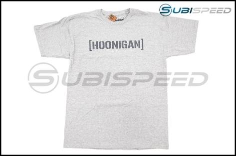 HOONIGAN Bracket Logo Short Sleeve Heather Gray Tee