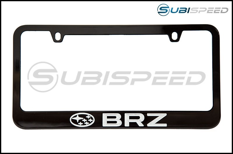 Subaru BRZ License Plate Frame
