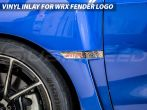 StickerFab Fender Emblem Inlays - 2015-2021 Subaru WRX & STI