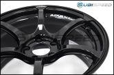 Advan RGIII 18X9.5 +45 114.3 Racing Gloss Black - 2015+ WRX / 2015+ STI