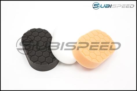 Chemical Guys Hex-Logic Hand Polishing Applicator Pads, 3 Pack 3x6x1 inch - Universal