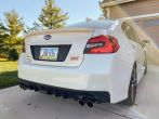 Sticker Fab Special Edition Dark Smoke Carbon Fiber C-Cut Tail Light Overlays - 2015-2020 WRX & STI