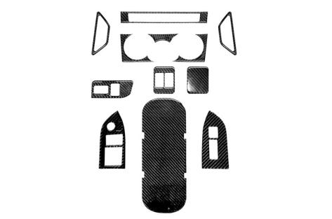 OLM Carbon Fiber Interior Dress Up Kit (12pc) Premium