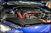 OLM LE Dry Carbon Fiber Intake Duct Cover - 2015+ WRX