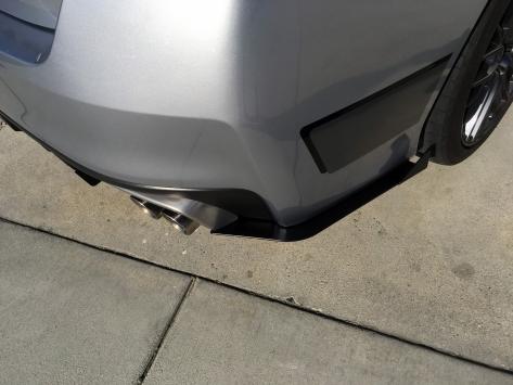 Rally Innovations Aluminum Rear Splitter / Spats