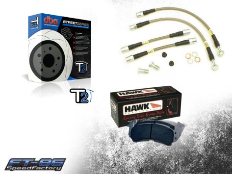 SpeedFactory Stage 1 Brake Package - 2013+ FR-S / BRZ / 86