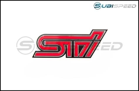 STI BRZ Front Grille Emblem - 17+ BRZ - 2017+ BRZ