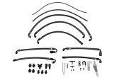 IAG Performance PTFE Fuel Line Kit for use w/ COBB Flex Fuel Sensor  - 2015-2021 Subaru STI